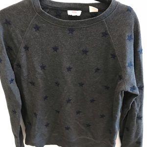 Levi's embroidered stars sweatshirt